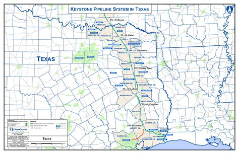 pipeline map texas where the keystone xl pipeline would go through texas