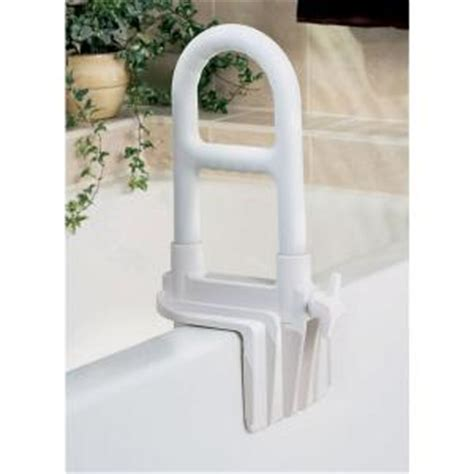 bathtub safety rails medline bathtub safety rail 14 in tall x 1 in diameter