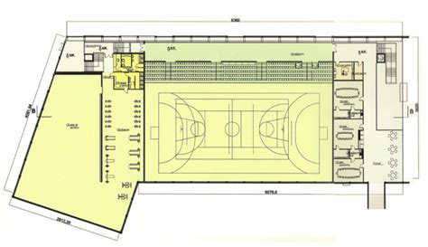 multi purpose hall floor plan multipurpose hall architecture