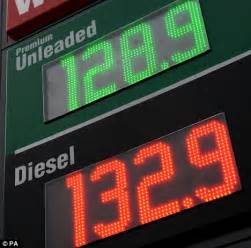 Petrol Price Petrol Price To Hit 163 6 A Gallon After Pipeline Leak Sends