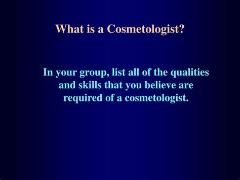 ppt cosmetology the history and opportunities powerpoint presentation id 69717