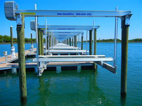 boat city marine boat lifts ocean city marina bayshore marine construction