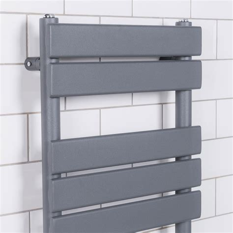 chrome bathroom towel rails designer flat panel heated bathroom towel rail radiator
