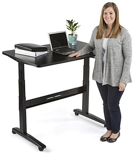 48 x 30 desk manual sit stand desk 48 x 30 tabletop