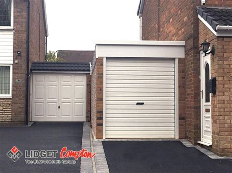 pent lean  garage leicester sectional buildings