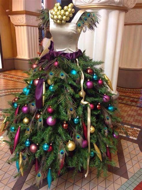 estrella fashion report christmas tree dress forms photos