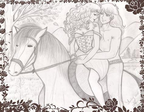 Komik No 6 8 Yumiko Igarasi Kyoko Mizuki paseo a caballo albert y by lorelei2323 on deviantart