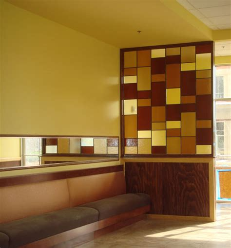 Custom Glass Tiles, Panels and Walls for Italian