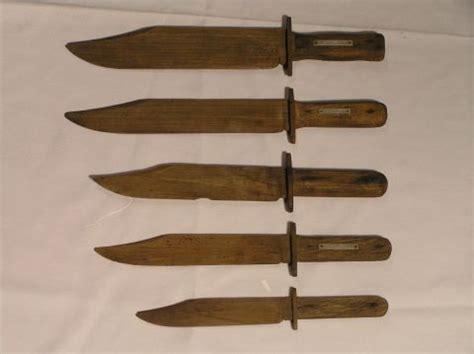 pattern for bowie knife 237 vintage wooden bowie knife patterns lot 237