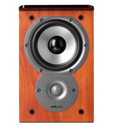 polk audio tsi100 2 way bookshelf speakers with 5 25