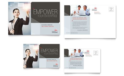business mailers templates free corporate business postcard template word publisher