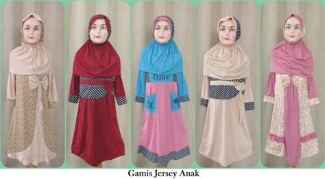 Baju Murah 478 pusat grosir gamis jersey anak syari murah 45ribuan
