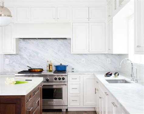 marble backsplash kitchen pacific white marble kitchen countertops design ideas