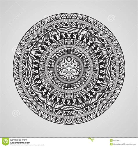 how to make your own doodle for vector doodle mandala
