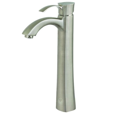 Are Vigo Faucets Any by Vigo Otis Single 1 Handle Bathroom Faucet In Brushed Nickel Vg03023bn The Home Depot