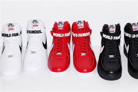 nike air 1 high supreme supreme x nike air 1 high collection le site de la