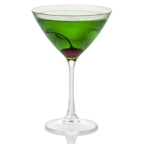 green apple martini green apple martini in acrylic glass