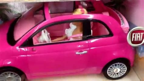 barbie toy cars barbie quot fiat glam car quot toy car with doll toy toy