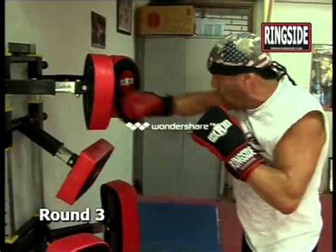 jeff fenech shows you how to use the punch master cardio