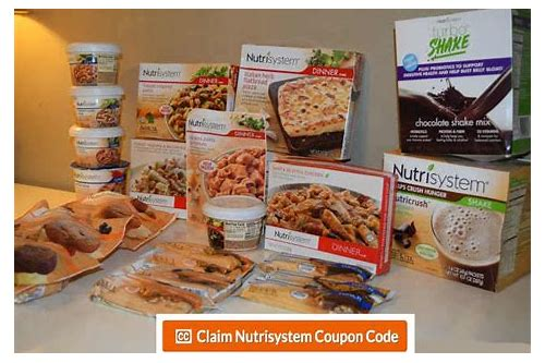nutrisystem jumpstart coupons