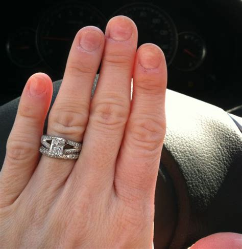 engagement rings on wallpaper