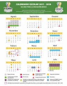 Calendario 2018 Mexico Sep Calendario Escolar 2017 2018