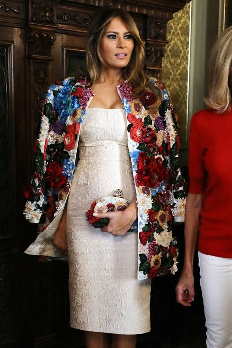 Fall Home Decorations by Melania Trump S 51 500 Dolce Amp Gabbana Coat Sparks