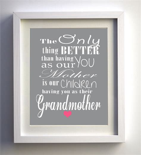 printable grandma quotes mother s day gift unique print grandmother gift quote