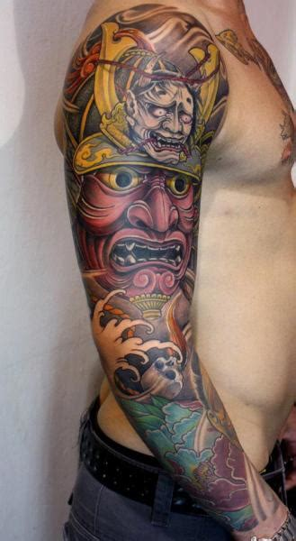 tattoo inspiration japanese arm japanese samurai tattoo by dirty roses