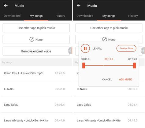 cara membuat video com cara membuat video slideshow foto dan musik di android
