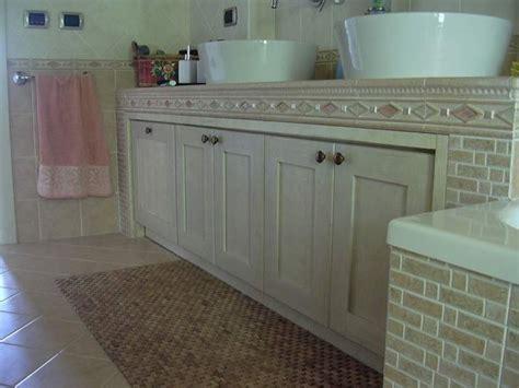 mobile bagno in muratura fai da te