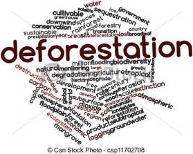 stock illustration deforestation abstract word cloud deforestation csp11702708