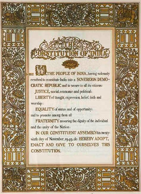 sections of indian constitution why do we need constitutional amendment 9 points agenda