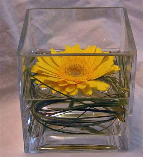 Simple Vase Centerpieces Wedding Ideas On Pinterest Gerber Daisies Gerbera Daisy