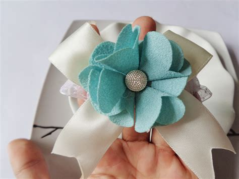 Handmade Corsage And Boutonniere - diy wedding or prom wrist corsage with bracelet silk