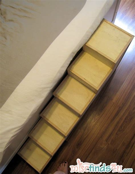 Ped Simple diy pet stairs simple steps you can make yourself