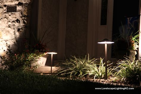 overland park lights installation photos of landscape lighting in overland park ks