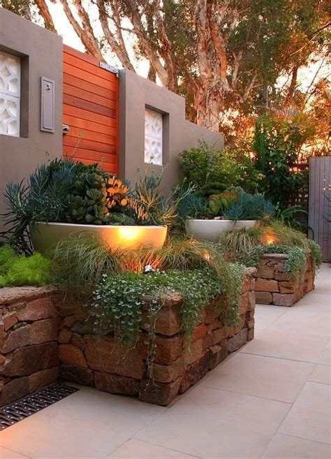 Rock Garden Planters Best 25 Planters Ideas On Pinterest Rock Garden Design Yard Landscaping And The Brick Beds