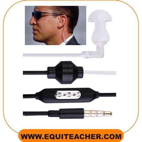 Headset Fbi headset fbi twee weg instructieset wis equiteacher