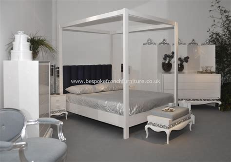 white four poster bed top 28 white 4 poster bed white four poster bed