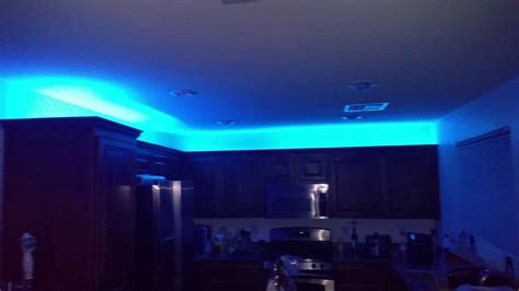Under Cabinet Led Lights Kitchen by Cabinet Led Lighting Along With Philips Hue Youtube