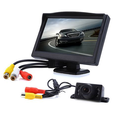 car rearview 5 inch tft lcd car rear view rearview monitor car lcd
