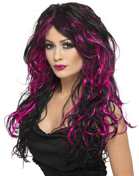 Black And Pink Hairstyles by 55 Best Images About Hair Black Streaks On