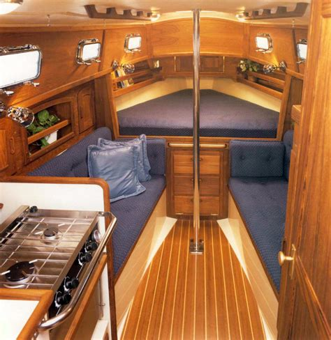 small boat interior design ideas the dana 24 sailboat bluewaterboats org