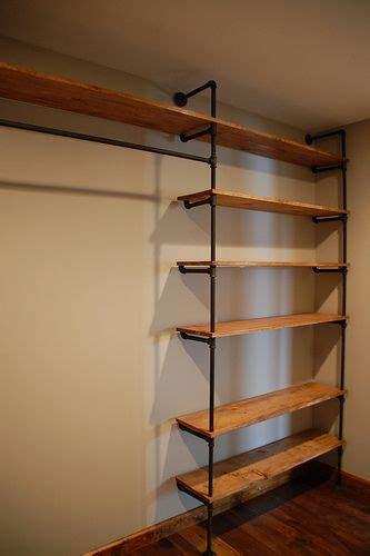 dsc   wood closet shelves closet remodel