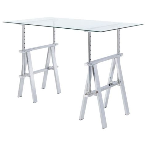 sawhorse desk with drawers adjustable writing desk with sawhorse legs silvermoon