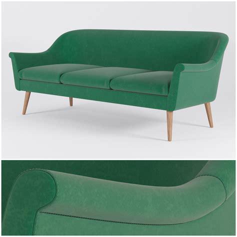 murphy sofa room and board murphy sofas 3d model max obj fbx
