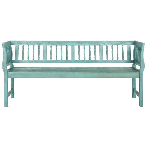 outdoor patio bench walker edison furniture company boardwalk dark brown acacia wood outdoor bench