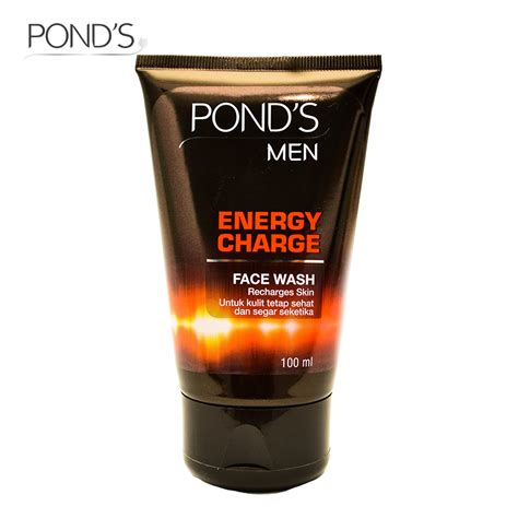 Ponds Energy Charge Wash 100g Ponds Wash Energy Charge Acne Clear Pollution