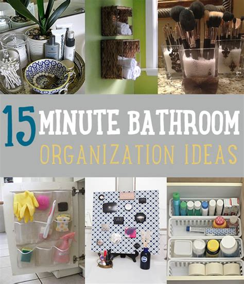 bathroom organization ideas diy home improvement hack ideas diy projects craft ideas how
